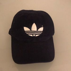 Navy adidas dad hat